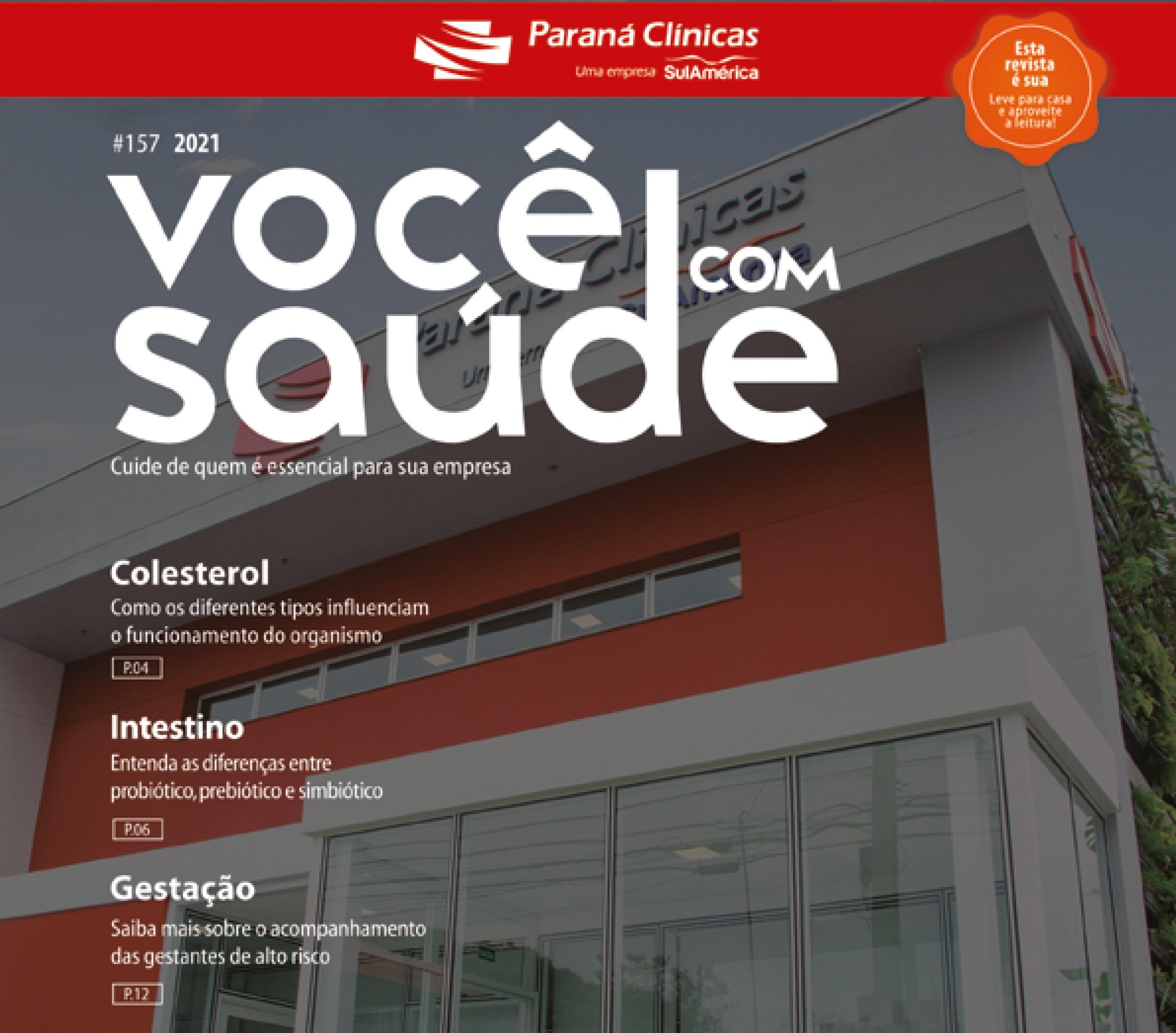 Confira a nova edição da Revista Você com Saúde!