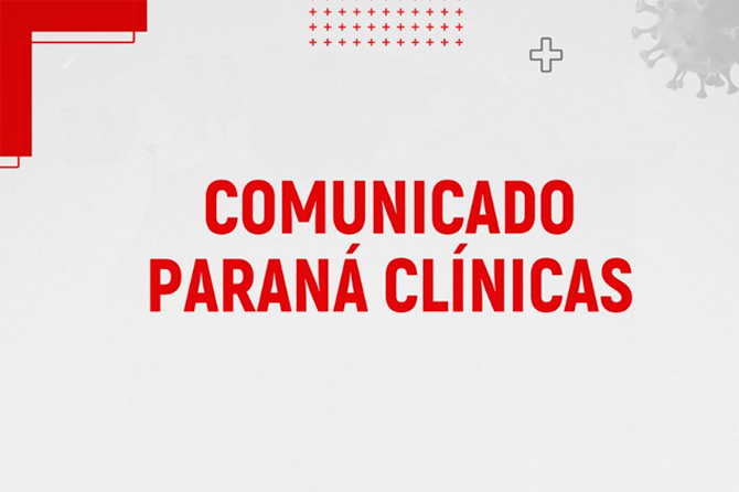 Comunicado Paraná Clínicas