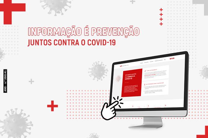 Informação é prevenção! Juntos contra COVID-19