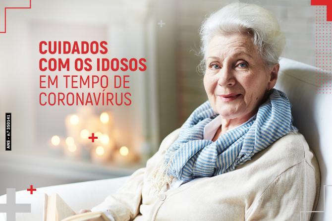 Cuidado com idosos em tempo de coronavírus