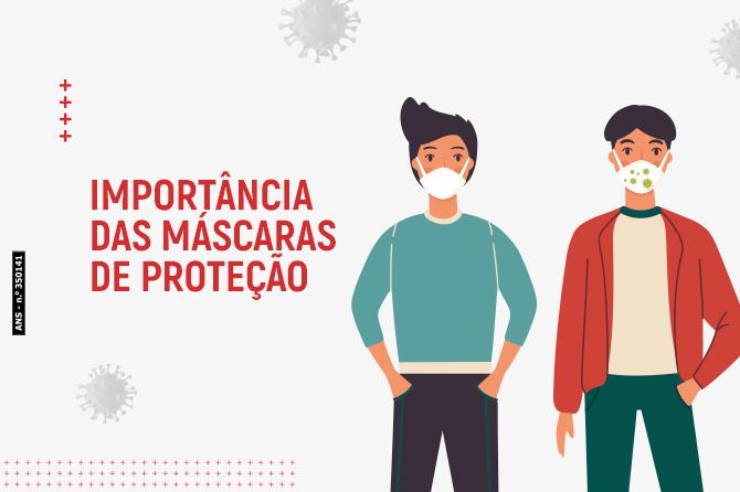 Importância das máscaras de proteção