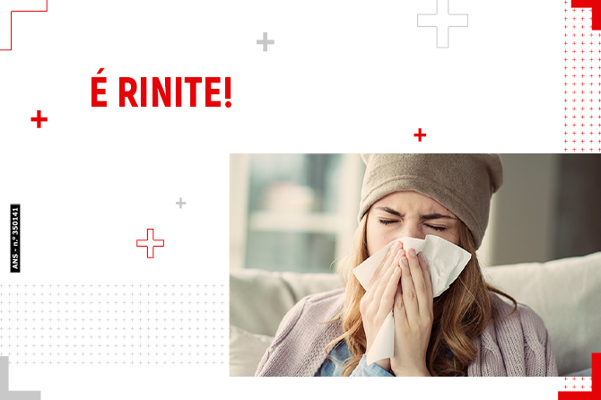 Rinite ou coronavírus?
