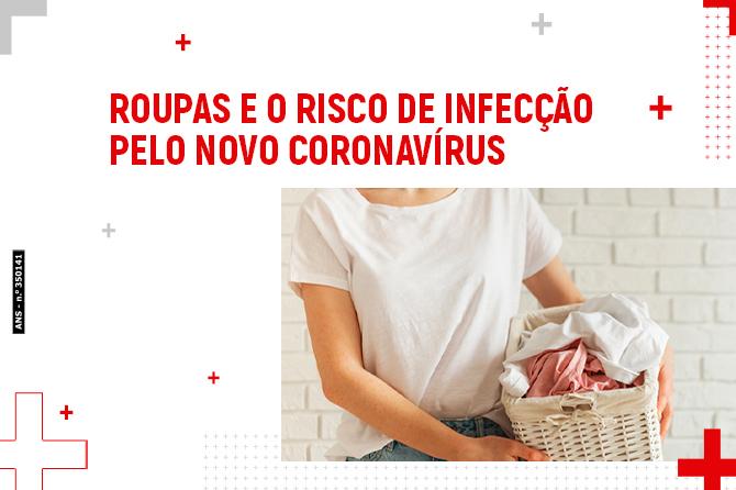Roupas e o risco de infecção pelo novo coronavírus