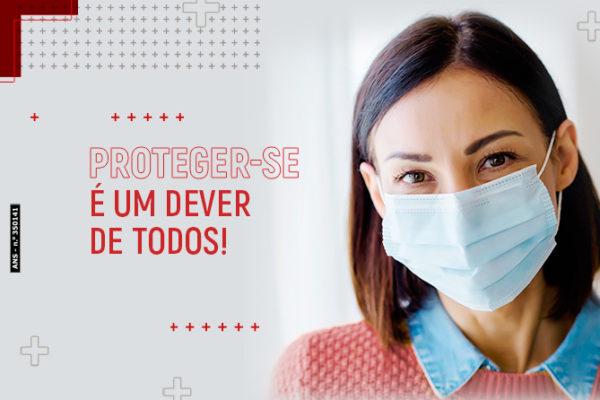 Uso de máscara: proteger-se é um dever de todos!
