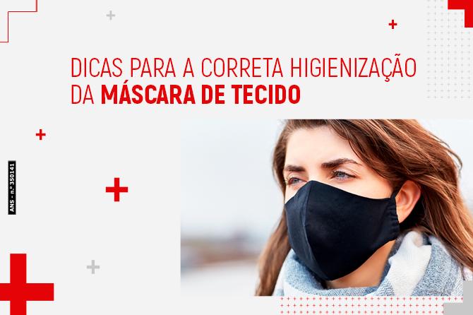 Dicas para a correta higienização das máscaras de tecido