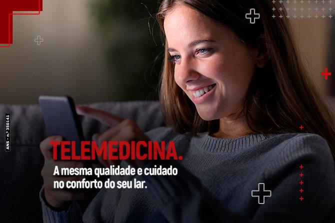 Telemedicina: A mesma qualidade e cuidado no conforto do seu lar