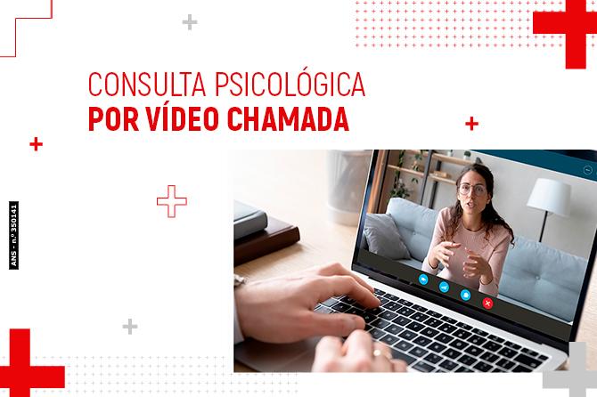 Consultas de Psicologia por vídeo chamada