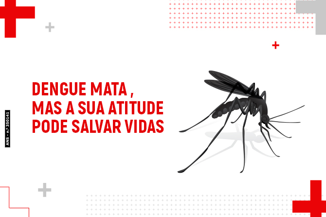 Dengue mata, mas a sua atitude pode salvar vidas