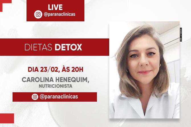 Live: Dietas Detox