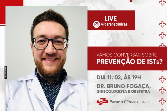 Live: Vamos conversar sobre prevenção de ISTs?