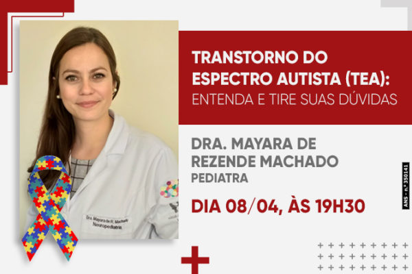LIVE: TRANSTORNO DO ESPECTRO AUTISTA