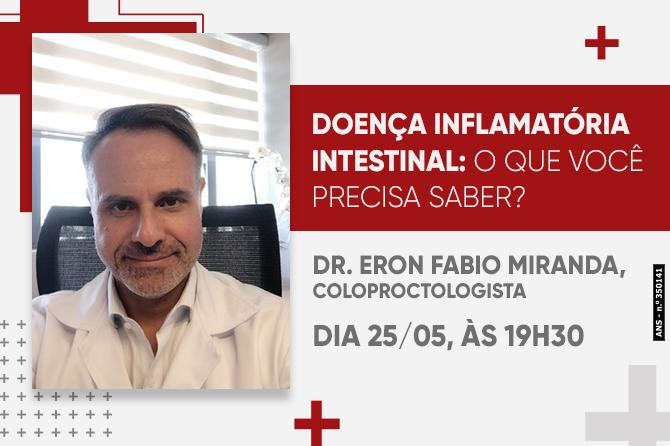 LIVE: DOENÇA INFLAMATÓRIA INTESTINAL (Doença de Crohn e Retocolite Ulcerativa)