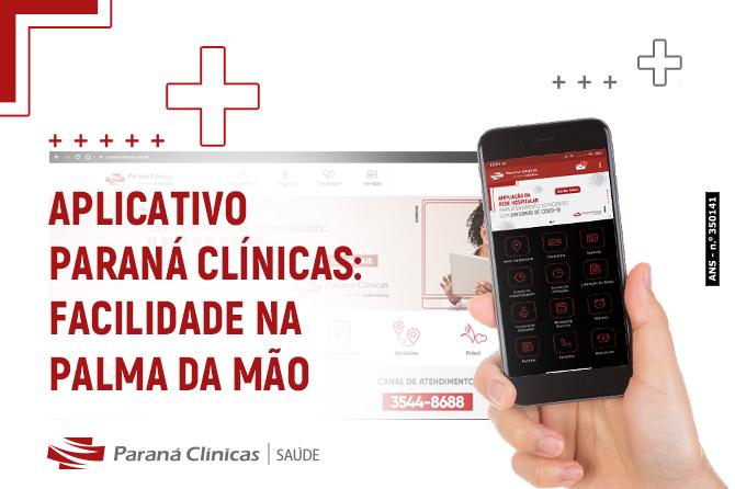 Aplicativo Paraná Clínicas: facilidade na palma da mão