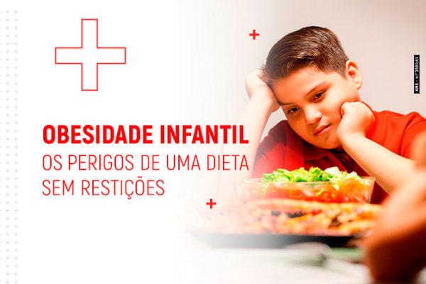 Obesidade infantil: os perigos de uma dieta sem restrições