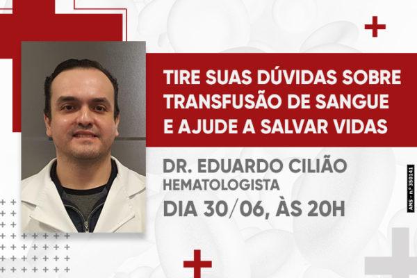 Live: Transfusão de sangue