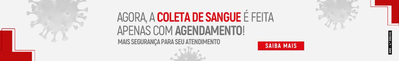 AGENDAMENTO PARA COLETA DE SANGUE